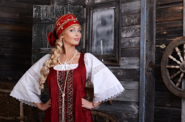 Beauty gifted Russian girl