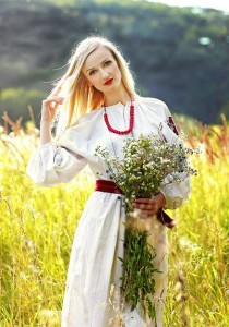 a Ukrainian bride