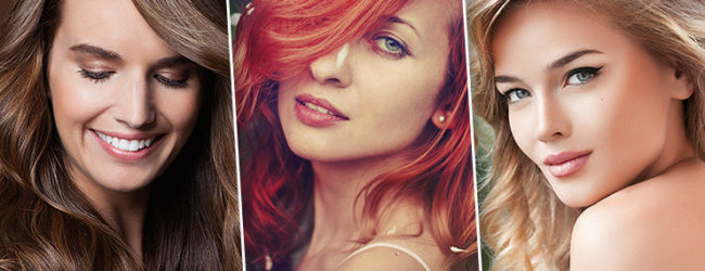 Choose your Russian Lady by hair color!