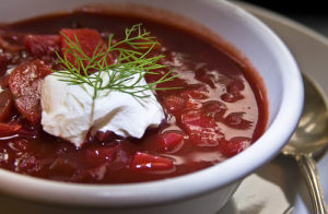 Borsch recipe to try with a Russian woman