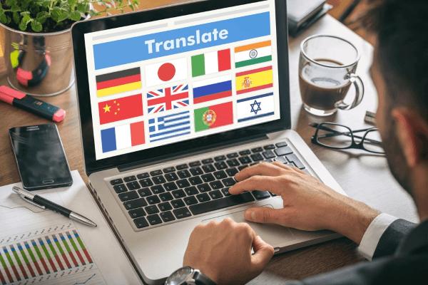 translation to many languages